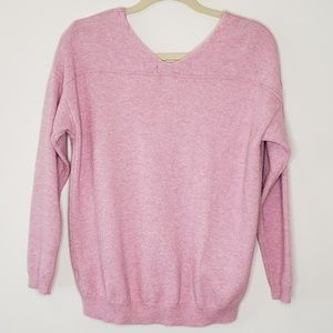 4/$25 Long Sleeve V Neck Sweater by Poof New York